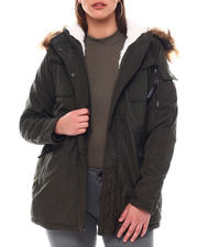 XOXO - Heavy Weight Anorak W/Sherpa Lining-2546773
