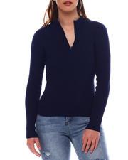 Sweaters - Turtleneck Strip Sweater-2548949