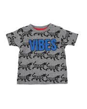 Arcade Styles - Good Vibes Tiger AOP Tee (2T-4T)-2549670