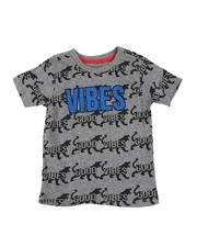 Arcade Styles - Good Vibes Tiger AOP Tee (4-7)-2549771
