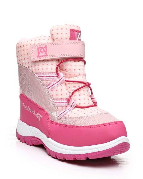 Avalanche - Polka Dot Snow Boots (12-4)