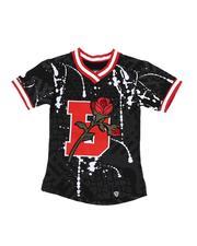 T-Shirts - Floral Varsity Tee (4-7)-2544407