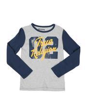 True Religion - 02 Logo Two-Tone Long Sleeve Tee (8-20)-2548645
