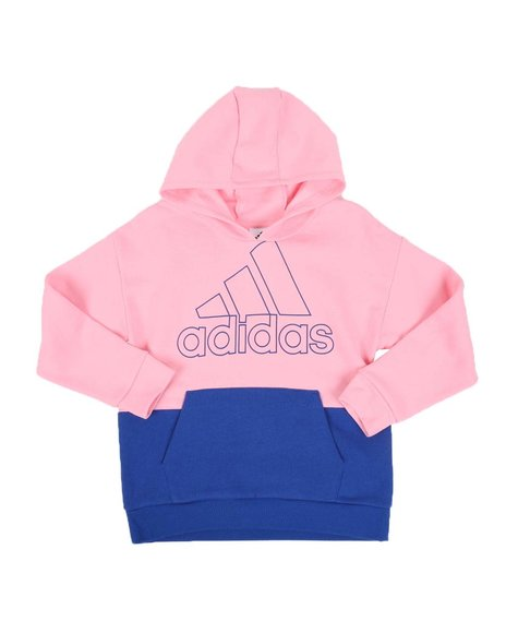 Adidas - Color Block Pullover Hoodie (7-16)