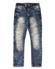 Bottoms - Stretch Biker Jeans (8-18)-2550034