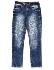 Bottoms - Stretch Biker Jeans (8-18)-2550041