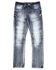 Bottoms - Stretch Biker Jeans (8-18)-2550067