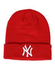 NBA, MLB, NFL Gear - New York Yankees Raised Cuff Knit Beanie-2421726