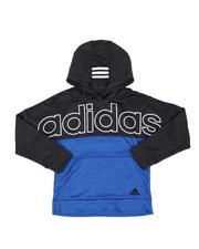 Adidas - Color Block Pullover Hoodie (8-20)-2549359