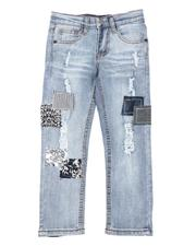 Arcade Styles - Patch Work Jeans (4-7)-2549848