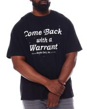 Hustle Gang - Come Back With A Warrant Tee (B&T)-2546319
