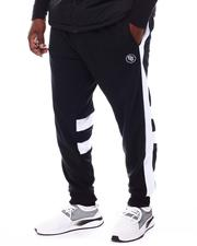 Men - Side Panel Block Track Pants (B&T)-2550419