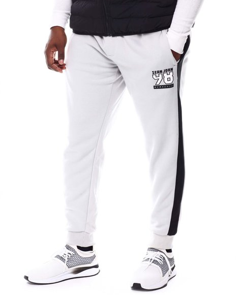 Sean John - Contrast Stripe Sweatpants (B&T)