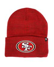 '47 - San Francisco 49ers Red Brain Freeze Cuff Knit Hat-2550825