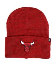 Hats - Chicago Bulls Brain Freeze Cuff Knit Beanie-2550826