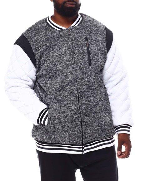 Buyers Picks - Color Block Fleece Varsity Jacket (B&T)