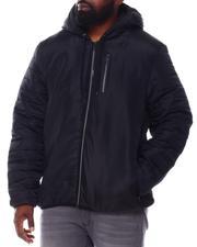 Light Jackets - Puffer Sleeve Hooded Jacket (B&T)-2546195