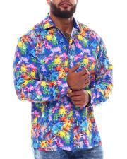 Buyers Picks - Paint Splatter Button Down Long Sleeve Shirt (B&T)-2546087