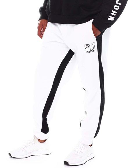 Sean John - Contrast Stripe Sweatpants (B&T)