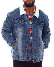 Akademiks - Full Sherpa Denim Jacket (B&T)-2550483