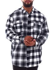 Sean John - Long Sleeve Color Blocked Check Shirt (B&T)-2551147