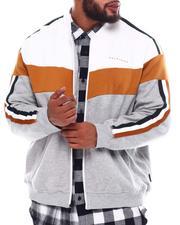 Track Jackets - Chevron Colorblock Track Jacket (B&T)-2551203