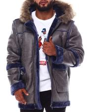 Buyers Picks - Shearling Hooded Coat (B&T)-2551317