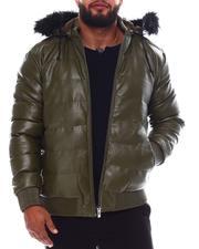 Heavy Coats - Hooded Puffer Jacket (B&T)-2551360