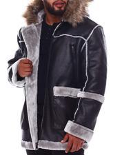 Buyers Picks - Shearling Hooded Coat (B&T)-2551331