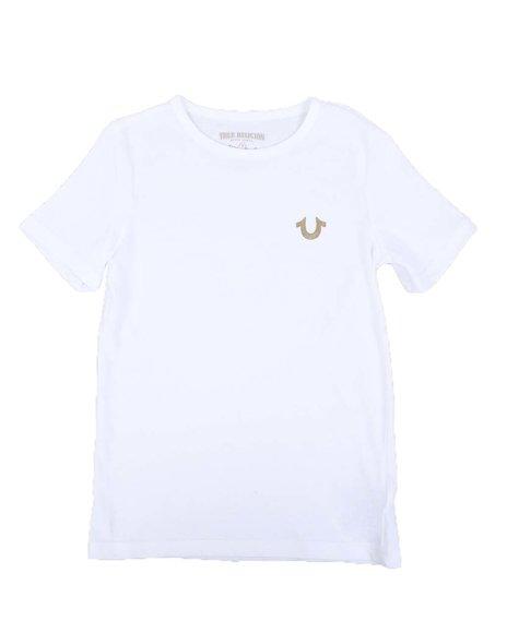 True Religion - Gold Buddha Logo Tee (8-20)