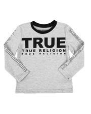 True Religion - True Logo Long Sleeve Tee (2T-4T)-2549527