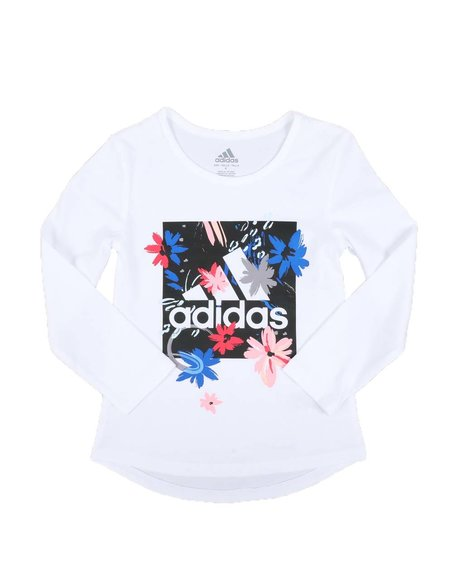 Adidas - Scoop Neck Tee (2T-6X)