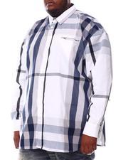 Buyers Picks - Multi Color Plaid Long Sleeve Woven Shirt 6X-8X (B&T)-2551833