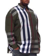 Buyers Picks - Multi Color Plaid Long Sleeve Woven Shirt 6X-8X (B&T)-2551838