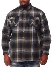 Black Friday Deals - Yarn Dyed Plaid Woven Shirt (B&T)-2551866