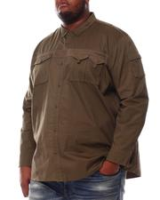 Sean John - Long Sleeve Utility Flight Shirt (B&T)-2551884