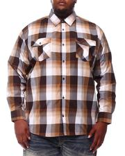 Buyers Picks - Yarn Dyed Plaid Woven Shirt (B&T)-2551926