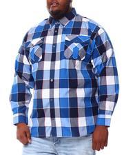 Button-downs - Yarn Dyed Plaid Woven Shirt (B&T)-2551951