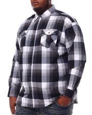 Button-downs - Yarn Dyed Plaid Woven Shirt (B&T)-2551960