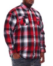 Button-downs - Yarn Dyed Plaid Woven Shirt (B&T)-2551971