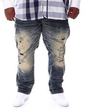 Jordan Craig - Washed Distressed Denim Jeans (B&T)-2552049