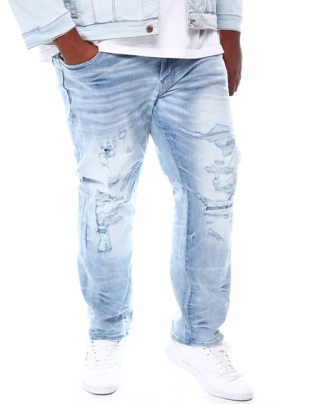 Jordan Craig - Washed Distressed Denim Jeans (B&T)