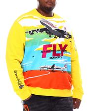 Pullover Sweatshirts - Fly Anywhere Crewneck (B&T)-2550502
