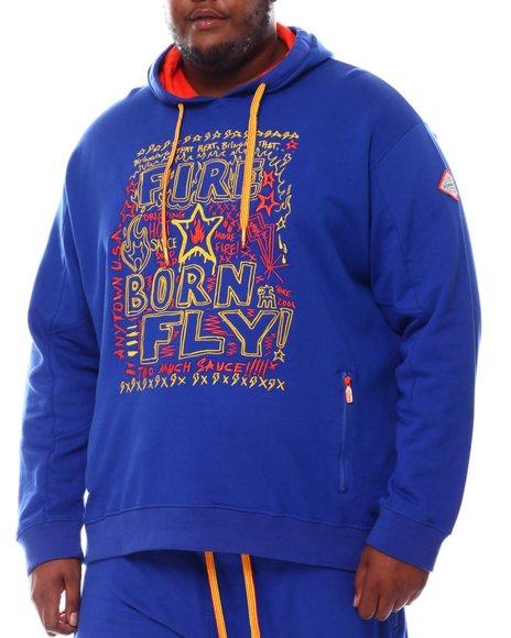 Born Fly - Hot Pepper Loopback Hoody (B&T)