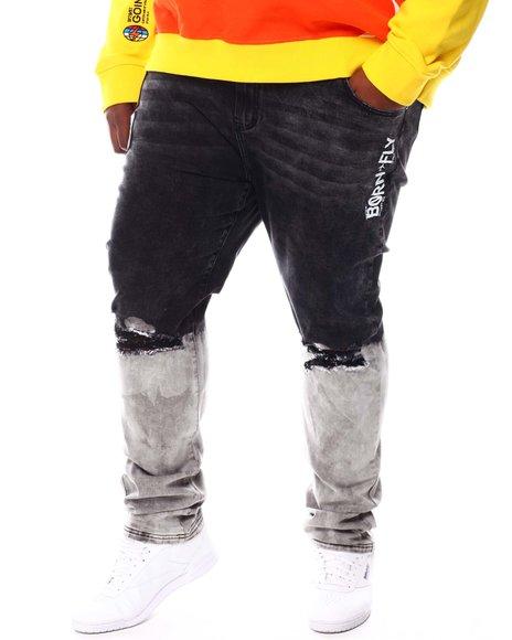 Born Fly - O'Hare Dip Dye Denim Jeans (B&T)