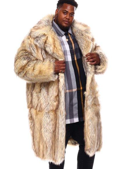 Jordan Craig - Faux Fur Long Coat (B&T)