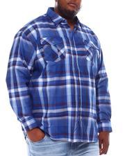 Big & Tall Faves - Yarn Dyed Plaid Woven Shirt (B&T)-2551940