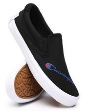 Champion - Fringe Slip On Canvas Sneakers-2552170