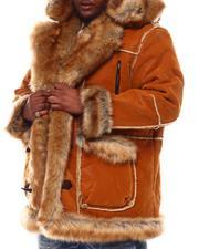 Jordan Craig - Faux Suede Bonded Shearling With Faux Fur (B&T)-2551665