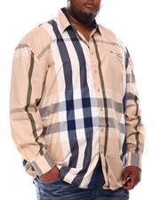 Buyers Picks - Multi Color Plaid Long Sleeve Woven Shirt 6X-8X (B&T)-2551763